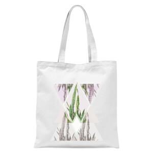 Sansevieria Tote Bag - White