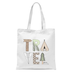 Travel Tote Bag - White
