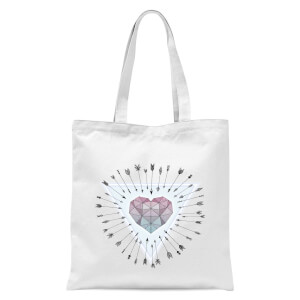 Young & Unafraid Tote Bag - White