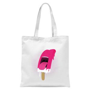 I Scream Tote Bag - White