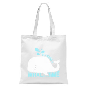 Having A Whale Of A Time Tote Bag - White