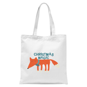 Christmas Magic Tote Bag - White