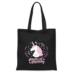 Magical Mummy Tote Bag - Black
