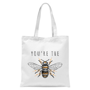 You're The Bees Knees Tote Bag - White