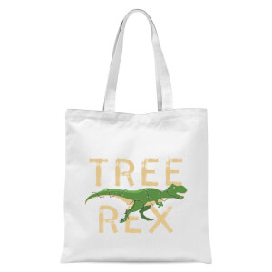 Tree Rex Tote Bag - White