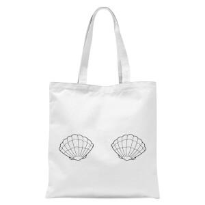 Two Shells Tote Bag - White