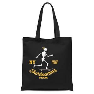 Skateboarding Team Tote Bag - Black