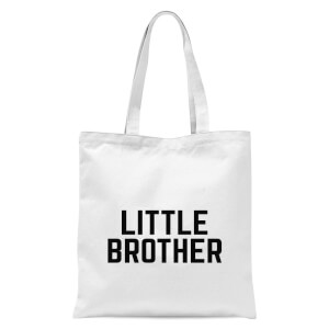 Little Brother Tote Bag - White