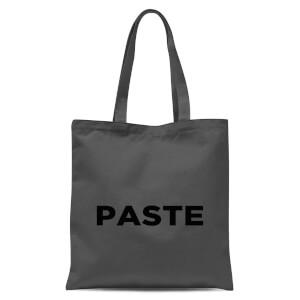 Paste Tote Bag - Grey