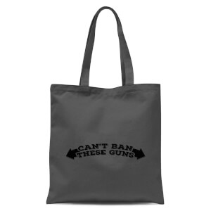 Can't Ban These Guns Tote Bag - Grey