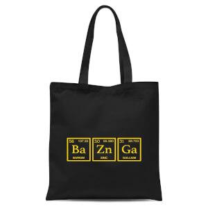 Ba Zn Ga Tote Bag - Black