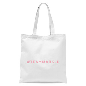 #TeamMarkle Tote Bag - White