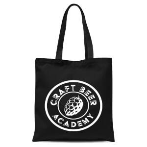 Craft Beer Academy Tote Bag - Black