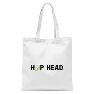 Hop Head Tote Bag - White