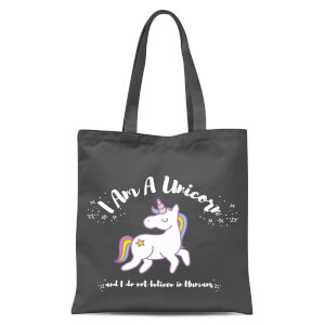 International Women's Day I Am A Unicorn Tote Bag - Grey