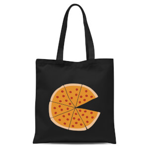 International Women's Day Pizza Missing Tote Bag - Black