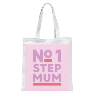 International Women's Day No.1 Stepmum Tote Bag - White