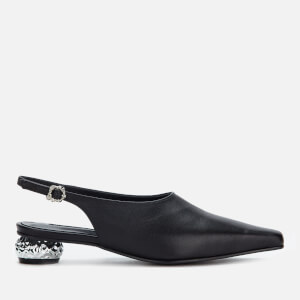 Yuul Yie Women's Lina Pointed Flats - Black