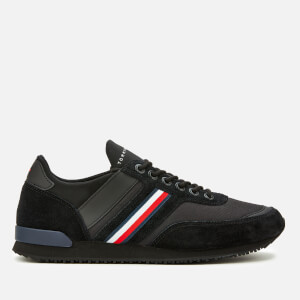 Tommy Hilfiger Men's Iconic Sock Runner Trainers - Black