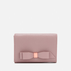 Ted Baker Women's Leonyy Bow Flap Mini Purse - Pale Pink