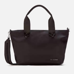 Ted Baker Women's Macieyy Chunky Zip Small Nylon Tote Bag - Black