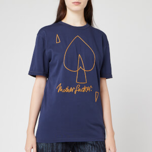 Vivienne Westwood Anglomania Women's New Classic T-Shirt Mf - Navy