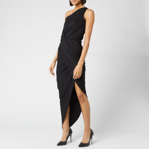 Vivienne Westwood Anglomania Women's One Shoulder Vian Dress - Black
