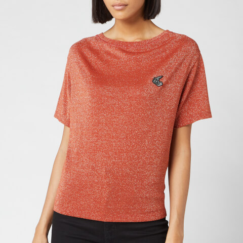 Vivienne Westwood Anglomania Women's Historic T-Shirt - Rust