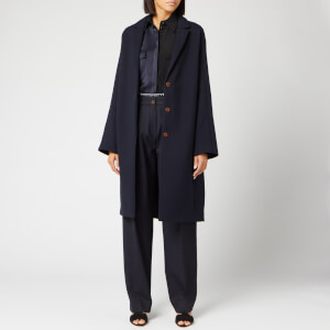 Victoria, Victoria Beckham Women's Bow Back Coat - Midnight