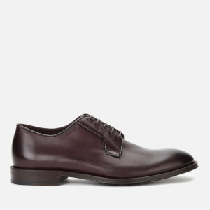 Paul Smith Men's Chester Leather Derby Shoes - Aubergine