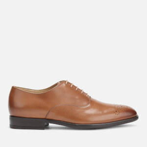 PS Paul Smith Men's Guy Leather Oxford Shoes - Tan