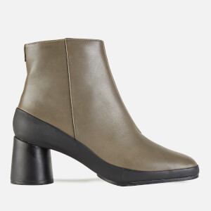 Camper Women's Upright Heeled Ankle Boots - Grey