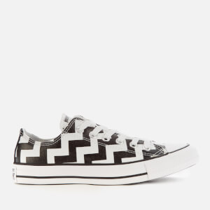 Converse Women's Chuck Taylor All Star Glam Dunk Ox Trainers - White/Black/White