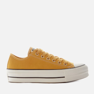Converse Women's Chuck Taylor All Star Lift Ox Trainers - Gold Dart/Vintage White/Black