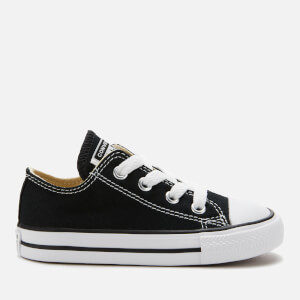 Converse Toddlers' Chuck Taylor All Star Ox Trainers - Black