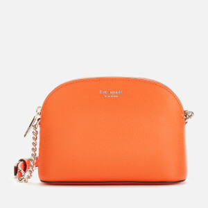 Kate Spade New York Women's Sylvia Small Dome Cross Body Bag - Juicy Orange
