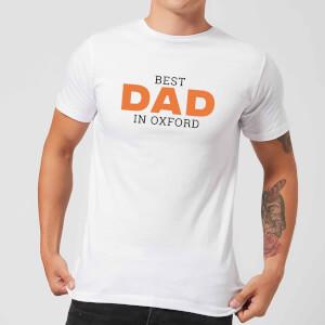 Best Dad In Oxford Men's T-Shirt - White