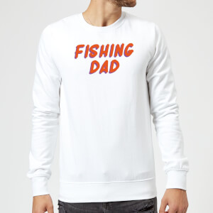 Fishing Dad Sweatshirt - White