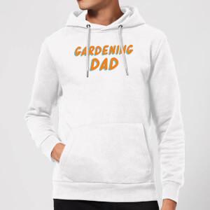 Gardening Dad Hoodie - White