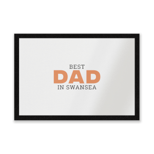 Best Dad In Swansea Entrance Mat