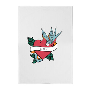 Da Heart Cotton Tea Towel