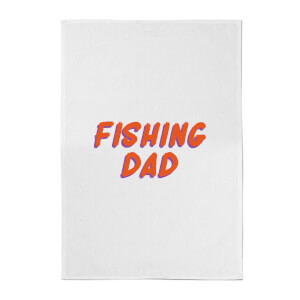 Fishing Dad Cotton Tea Towel