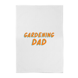 Gardening Dad Cotton Tea Towel