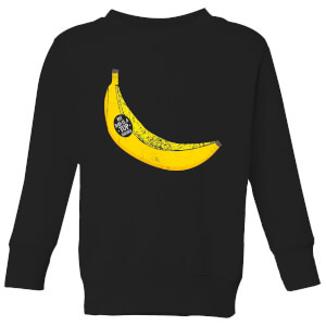 My Dad Is A Top Banana Kids' Sweatshirt - Black