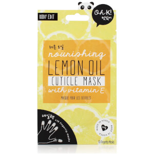 Oh K! Lemon Cuticle Finger Mask 6g