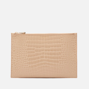 Aspinal of London Women's Essential Pouch Large - Soft Taupe