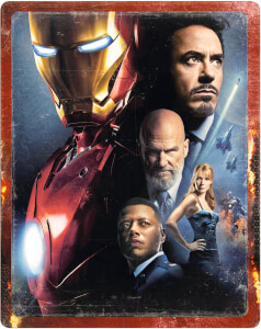 Iron Man 4K Ultra HD (incluye Blu-ray 2D) - Steelbook Edición Limitada Exclusivo Zavvi