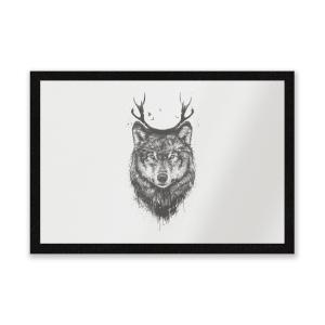 Wolf Entrance Mat