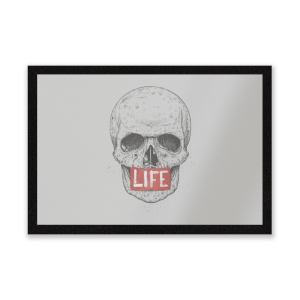 Life Skull Entrance Mat