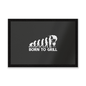 Born To Grill Entrance Mat